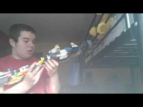 Custom lego zombies wonder weapon