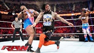 Ryback & The Usos vs. The New Day: Raw, November 16, 2015
