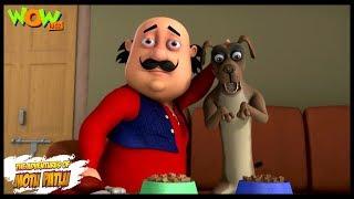 Motu Patlu New Episodes | Cartoons | Kids | Greedy Dog | Wow Kidz