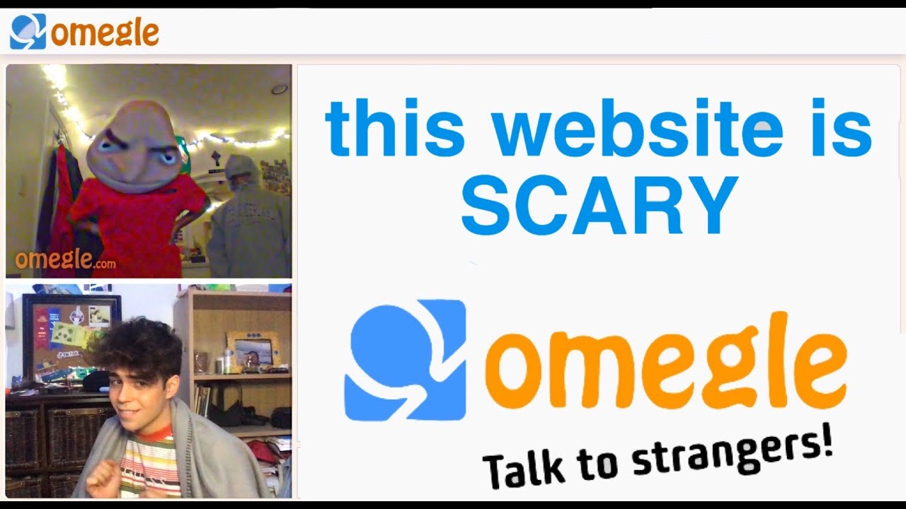 omegle is very um.... scary