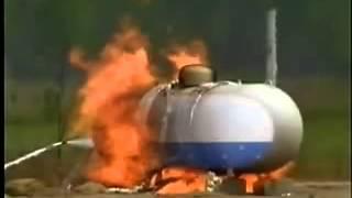 Propane Tank Explosion