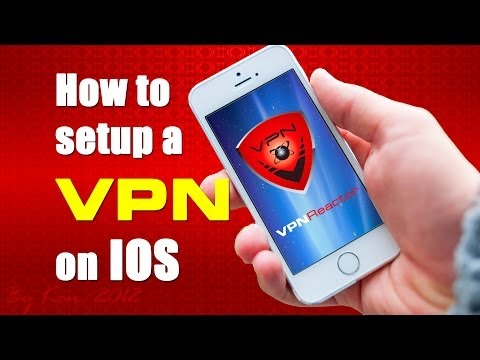 How to setup VPN on IOS - iPhone, iPad, IPod Touch - L2TP / IPSec
