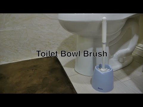 Best Toilet Brush Bowl Cleaner & Holder Set For Cleaning w/ Homemade / Natural to Lysol or Clorox