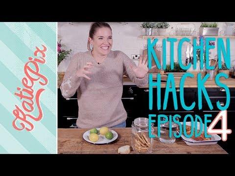 Top 5 Kitchen Hacks | Episode 4 | Katie Pix