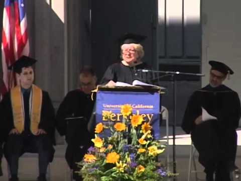 Margo Alexander Gives the 2012 Berkeley-Haas Undergraduate Commencement Adress