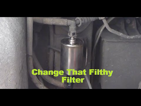 Holden VZ Commodore Change Your Fuel Filter Similar to VT,VX,VY HD