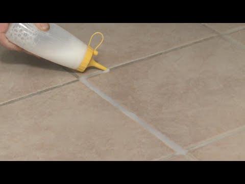 Quick Fix- Whiten Floor Tile Grout