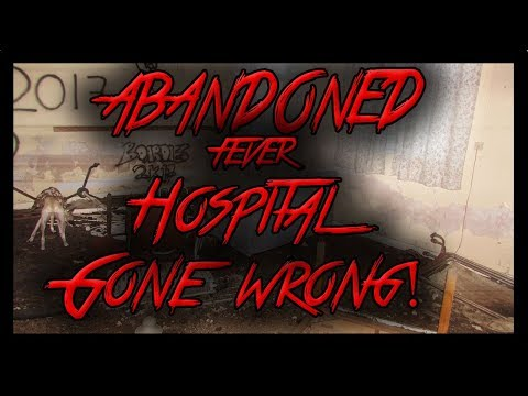EXPLORING A HAUNTED  ABANDONED FEVER HOSPITAL   (GHOST CAUGHT) - SWANSEA