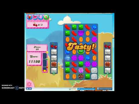 Candy Crush Level 181 Audio Talkthrough, 3 Stars 0 Boosters
