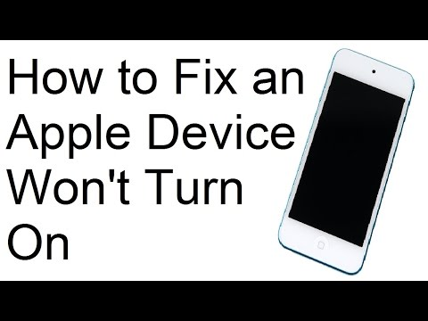 How to Fix Your Apple Device that Won't Turn On