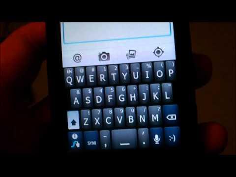 LG Optimus V Apps