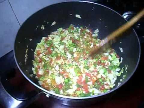 Pakistani des foodi Mix Vegetable Rice recipe *AAmna's Kitchenl*