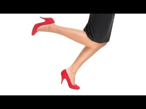 How to Run in Heels | High Heel Walking