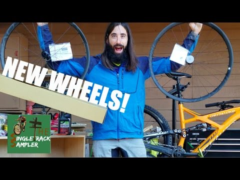 HOW TO INSTALL NEW WHEELS AND SET UP TUBELESS | The Singletrack Sampler