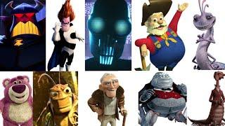 Defeats of My Favorite Pixar Villains