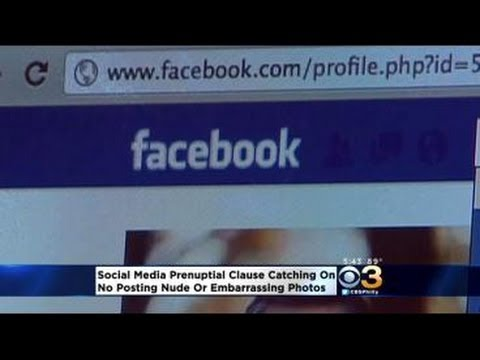 Couples Beginning To Include Social Media Clauses In Prenuptial Agreements