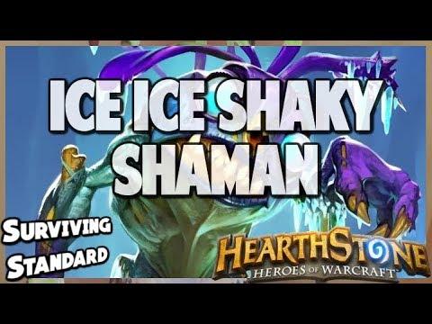 Ice Ice Shaky Shaman | Surviving Standard 65 | Hearthstone | Kobolds and Catacombs