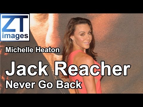 Michelle Heaton at the film premiere Jack Reacher: Never Go Back in London, UK.