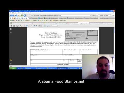 Alabama Food Stamps