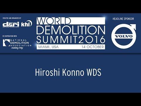 World Demolition Summit 2016 – Hiroshi Konno