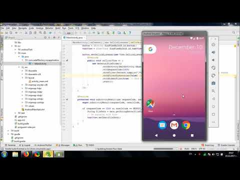 Using Material File Picker library in Android Studio