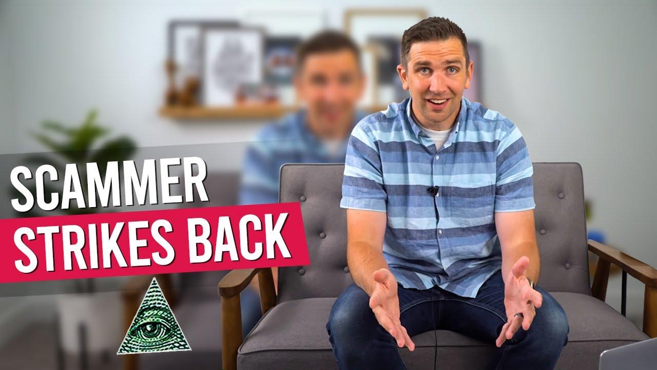 Illuminati Recruitment Scammer Strikes Back!