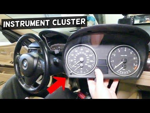 HOW TO REMOVE AND REPLACE INSTRUMENT CLUSTER ON BMW E90 E92 E91 E93
