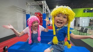 Obstacle Course for Kids VR 180