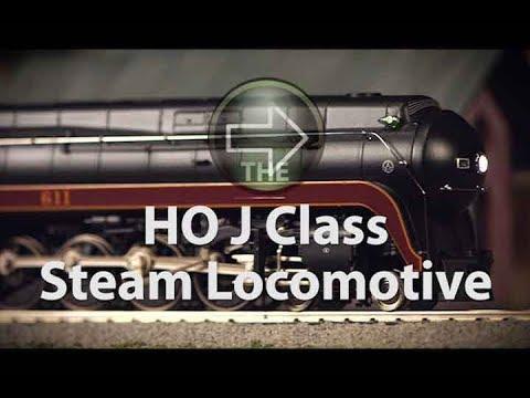 MTH Electric Trains HO Norfolk & Western J Class Steam Locomotive