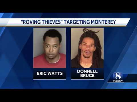 17 arrested in connection with months-long burglary spree in Monterey