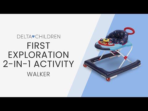 Delta First Exploration 2-in-1 Activity Walker