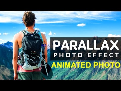 How to Make 2.5D Parallax Photo Effect - Photoshop Tutorial | Photo Animation
