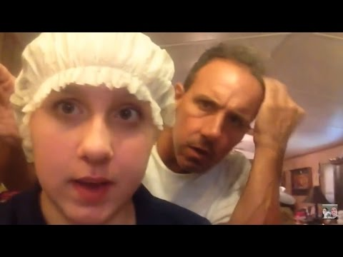 Head Lice Infestation!  Dad Reacts to Crawling Bugs in Kids Hair with Jokes and Puns