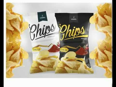 Chips Packaging - Speed art - (COREL DRAW) | armelcankusic