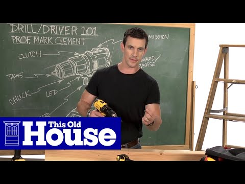 Drill/Driver 101: Clutch Collar - This Old House
