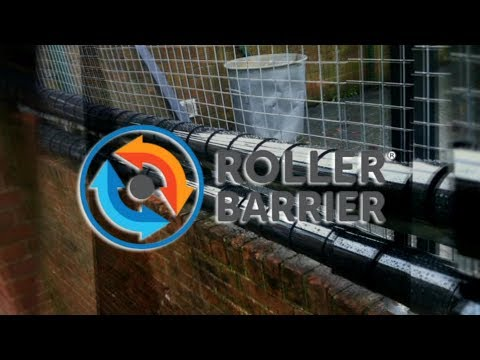 Introducing Roller Barrier - the Non Aggressive Anti Climb Solution of Choice