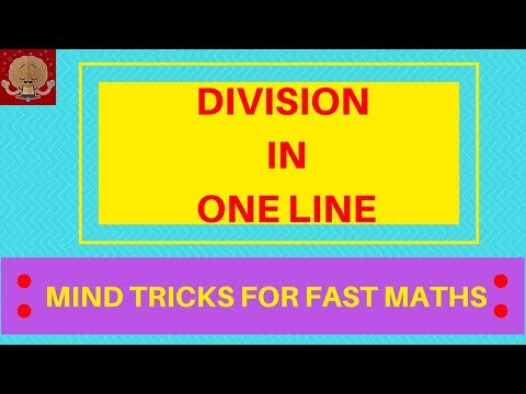 HOW TO DIVIDE FAST / MENTAL DIVISION STRATEGY for 2nd Grade, 3rd Grade/ SHORT DIVISION
