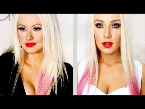 Christina Aguilera Inspired Tutorial!