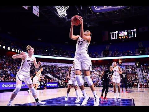 Women's Basketball Highlights - UConn 75, Cincinnati 21