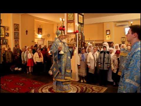 Архипастырский визит в Свято--Троицкий храм Кириши 24.09.2017