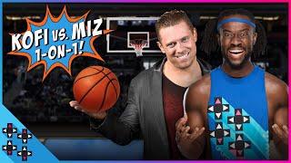 BASKETBALL SHOWDOWN: THE MIZ vs. KOFI KINGSTON - FIRST TO 12 WINS!