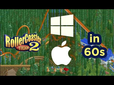 MAC and PC. Easiest way ever to install RollerCoaster Tycoon 2 Multiplayer. No Wine