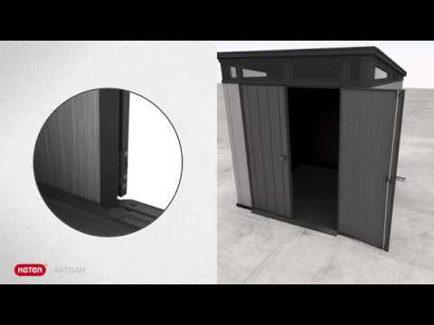 How to assemble the Artisan 7x7 shed