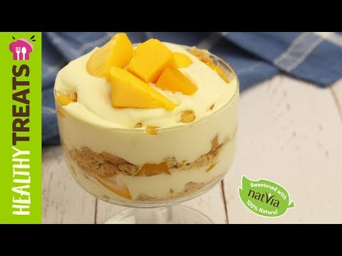 Filipino Mango Float - Natvia's Healthy Treats