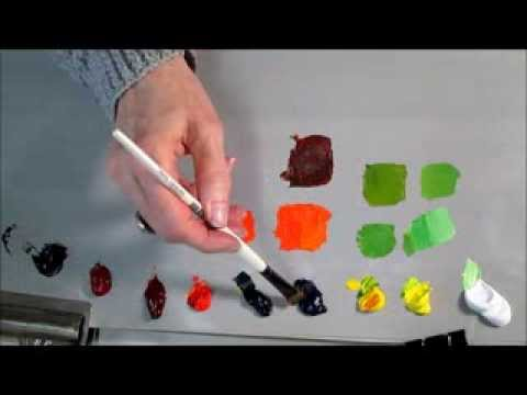 Colour Theory & Mixing - The Basics