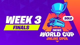 Fortnite World Cup Week 3 Finals