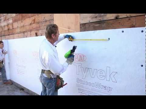 Tyvek Stucco house wrap or plastering house Wrap moisture barrier