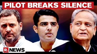 Sachin Pilot Warns Congress & Ashok Gehlot: