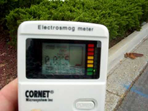 Measuring Radiation from Ramona, CA Smart Water Meter