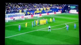 Gol de Messi Villarreal 1-1 Barça 08-01-17